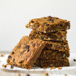 Pumpkin Oatmeal Anytime Squares