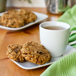 Oh Mega Carrot Cake Breakfast Cookies