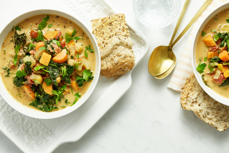 10 Spice Vegetable Soup Freezer Friendly Vegan Gluten Free Oh She Glows