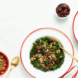 The Best Shredded Kale Salad
