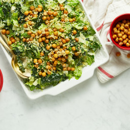 Crowd-Pleasing Vegan Caesar Salad