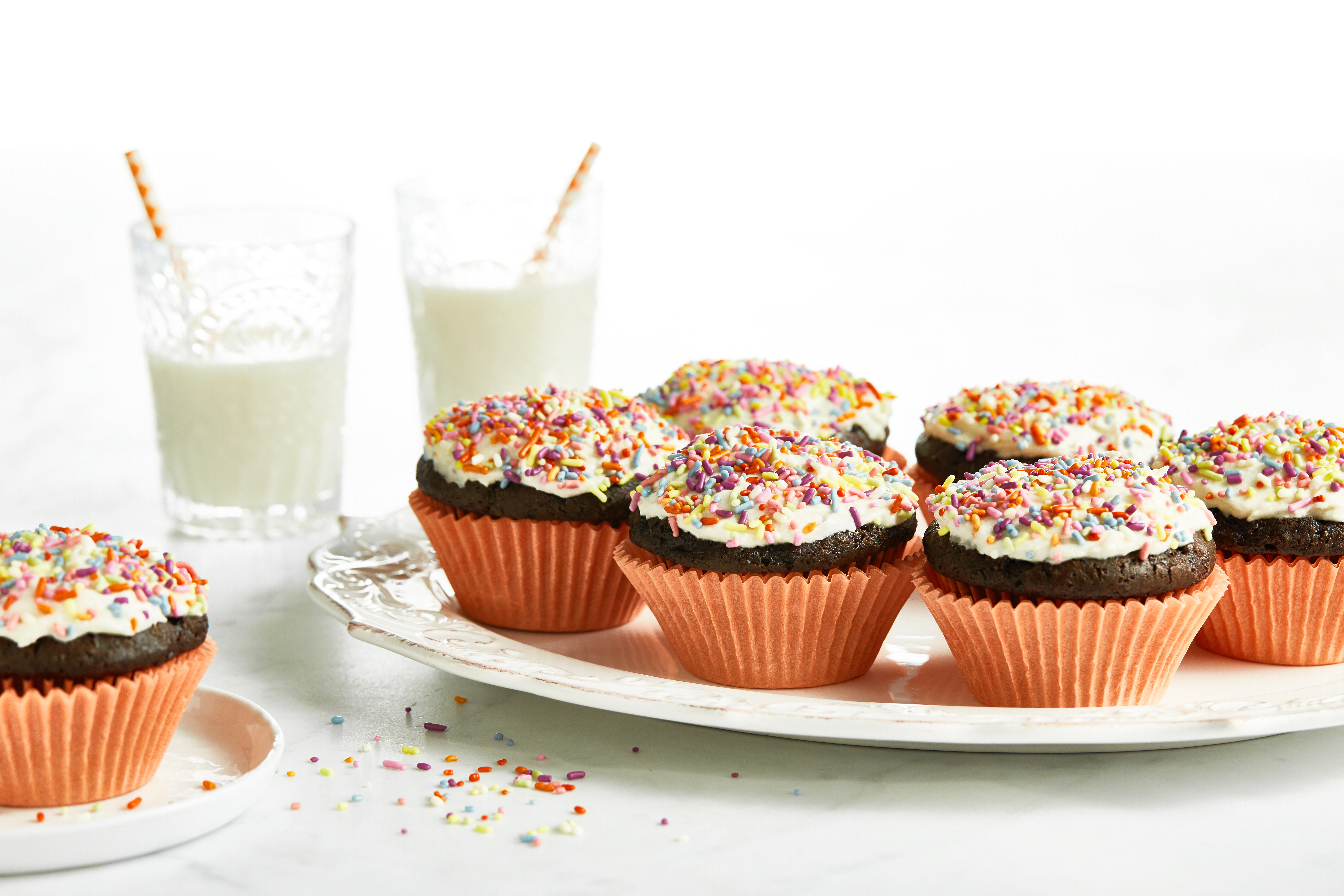 Fail-Proof Vegan Chocolate Cupcakes with Salted Buttercream — Oh ...