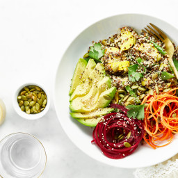 Summer Glow Buddha Bowl with House Vinaigrette