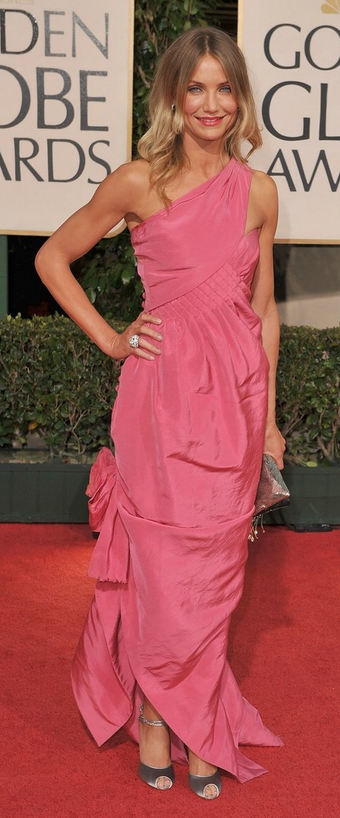 cameron diaz golden globes 2009 08   A Good Sign