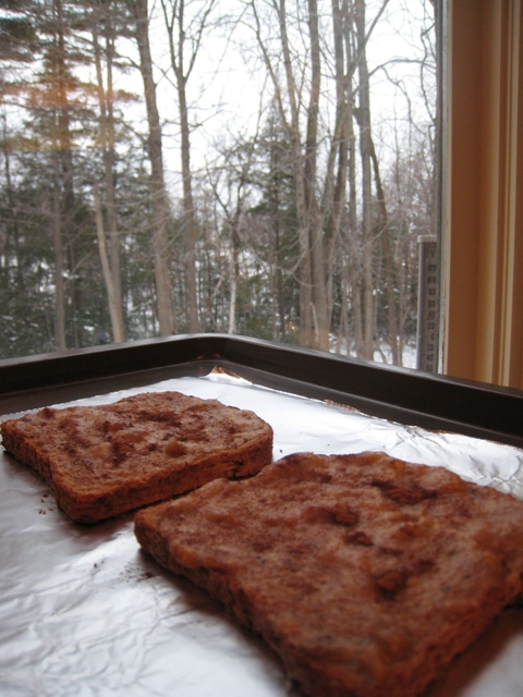 christmas 007   Easy Vegan Breakfast Banana Bread