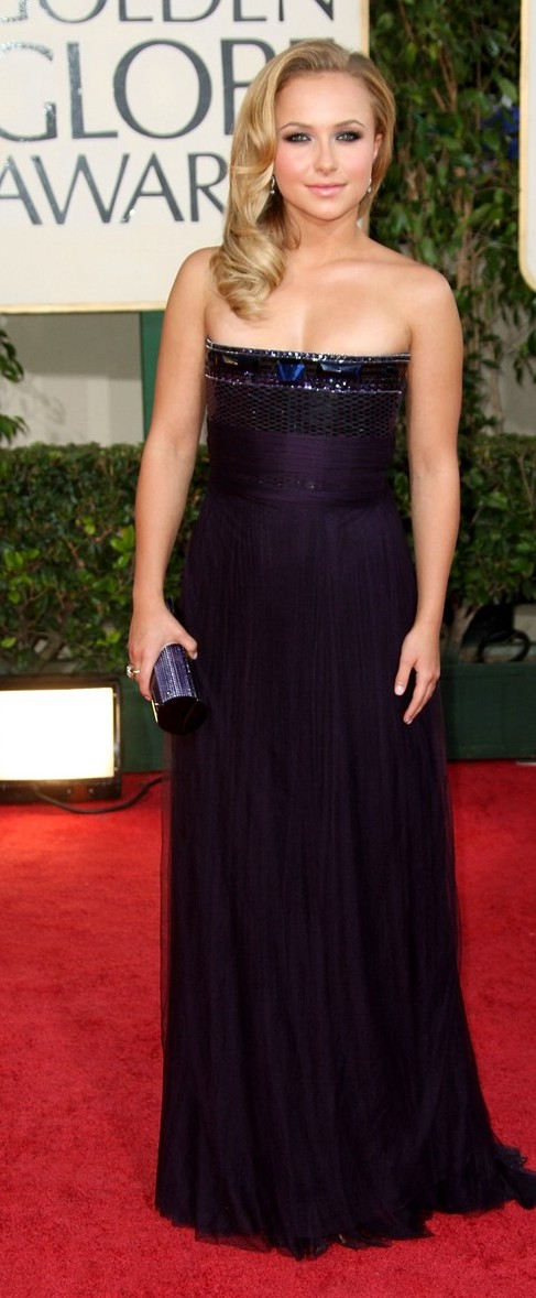 hayden panettiere golden globes 2009 05   A Good Sign