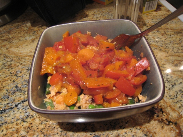 img 4193   Salmon Vegetable Medley + Neal Brothers Video