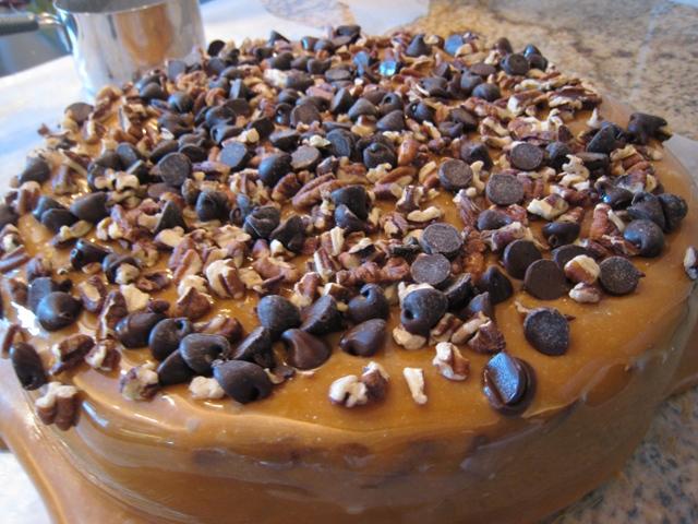 img 46401   Brownie Caramel Pecan Cake