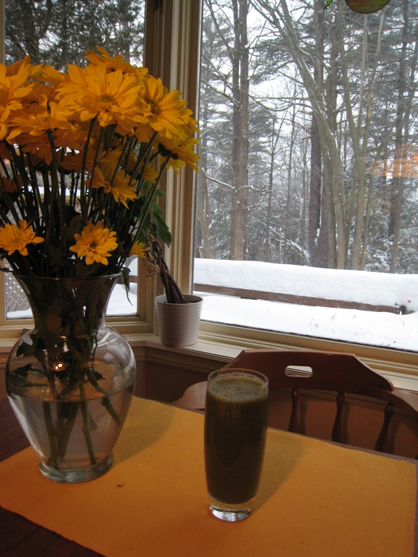 img 4781   Blueberry Banana Kale Smoothie