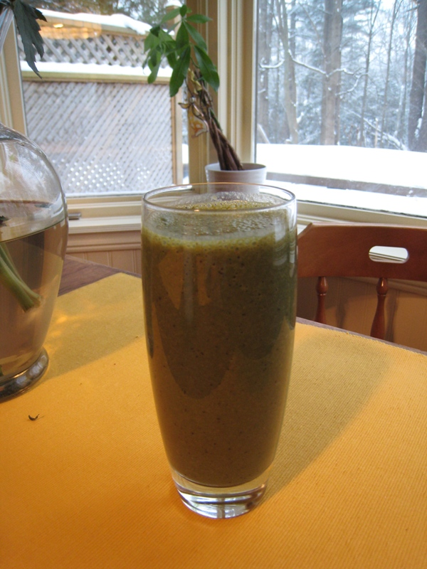 img 4782   Blueberry Banana Kale Smoothie