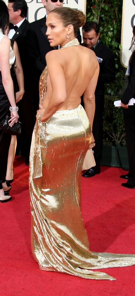 jennifer lopez golden globes 2009 03   A Good Sign