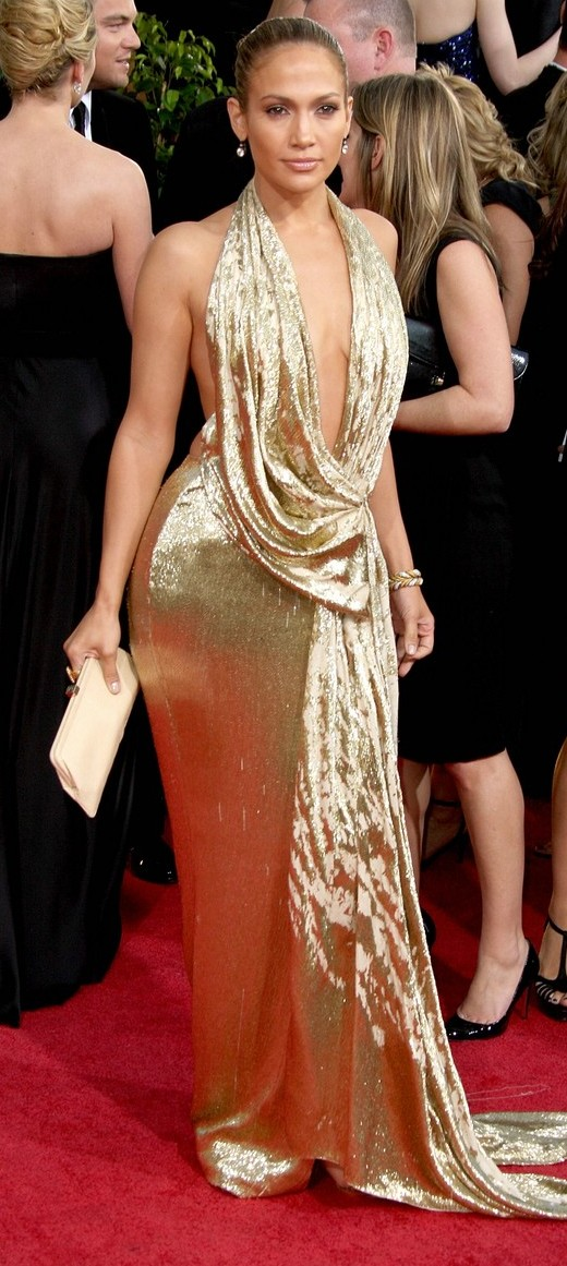 jennifer lopez golden globes 2009 06   A Good Sign