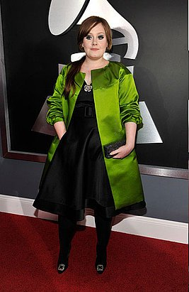 4c90eee68171e78b adele preview   Grammys Fashion: Best and Worst Dressed