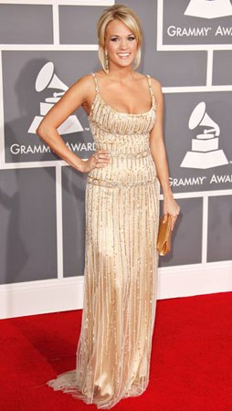c353eaecaf8be4de carrie underwood   Grammys Fashion: Best and Worst Dressed