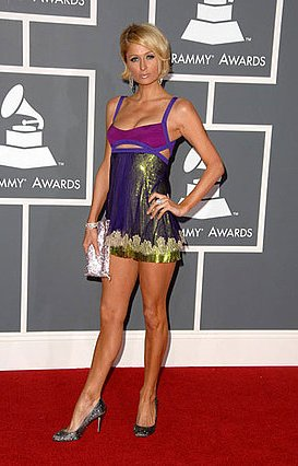 e9df7faef9cdbf82 paris hilton preview1   Grammys Fashion: Best and Worst Dressed