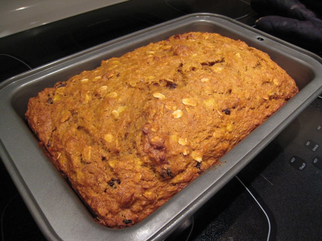 img 5033   Honey Raisin Banana Pumpkin Bread