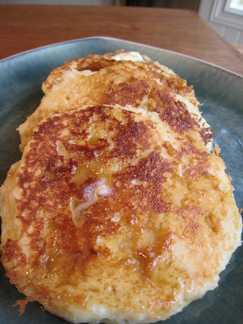Coconut Macaroon Pancakes Recipe — Dishmaps