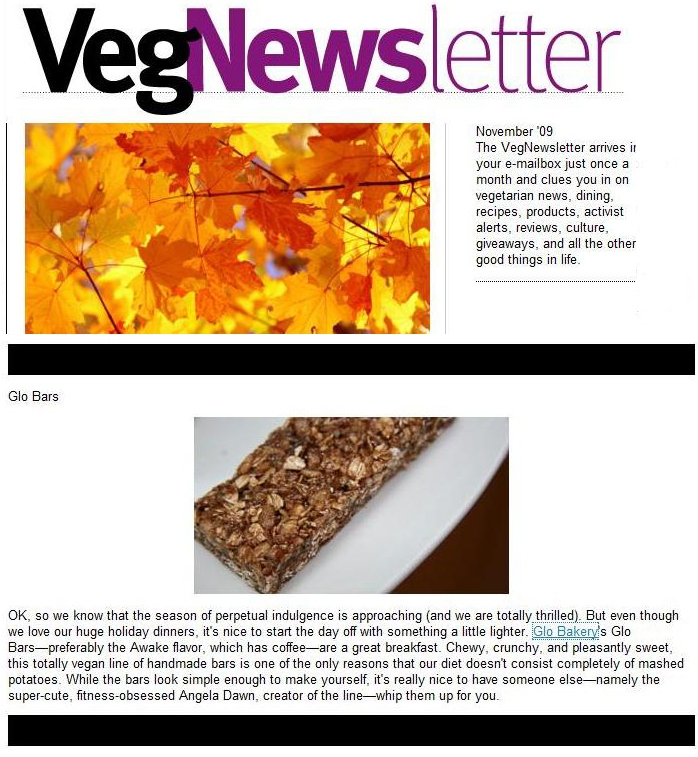 vegnews copy1   Press