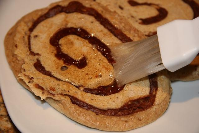 Peanut Butter Chocolate Swirl Pancakes Recipes — Dishmaps