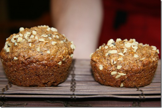 img 2554 thumb   Vegan Peanut Butter Banana Bomb Muffins