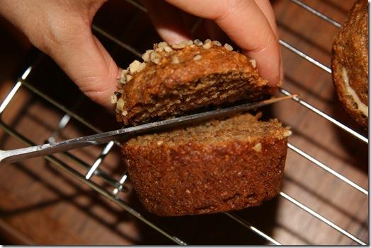 img 2585 thumb   Vegan Peanut Butter Banana Bomb Muffins