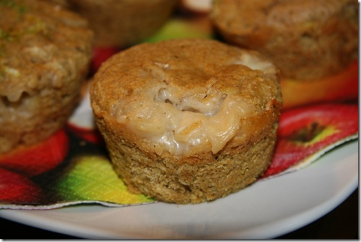 img 2899 thumb   Lime n' Cantaloupe Margarita Muffins