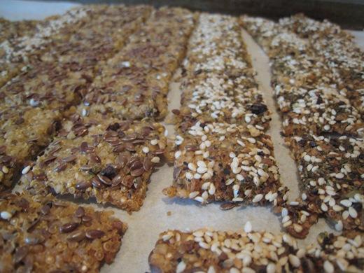 Gluten Free + Vegan Chewy Crackers — Oh She Glows
