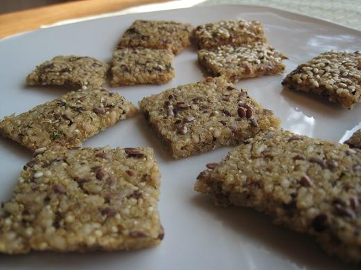 IMG 0057 thumb   Gluten Free + Vegan Chewy Crackers