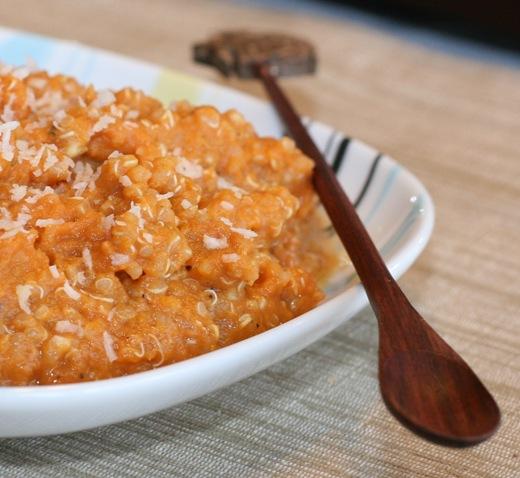 IMG 0123 thumb   2 Minute Pumpkin Quinoa