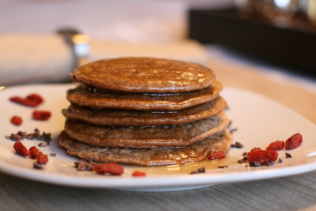 Healthy Spelt Pancakes For One — Oh She Glows
