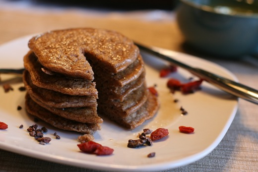 IMG 8912 thumb   Healthy Spelt Pancakes For One