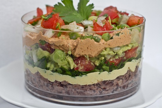 IMG 6207 thumb   Pico de Gallo + Guacamole + Vegan 7 Layer Dip