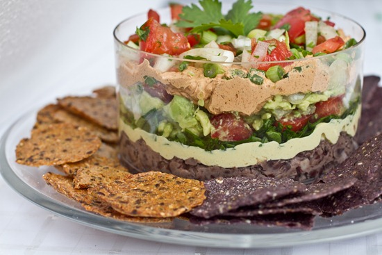 IMG 6226 thumb   Pico de Gallo + Guacamole + Vegan 7 Layer Dip