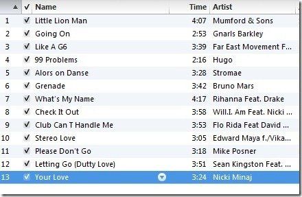 Here is the current running music I am loving (Eric made it for me!):