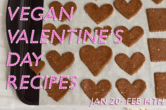 vdaybanner120th thumb2   No Bake Peanut Butter Chocolate Crispies with PB 'Fudge'