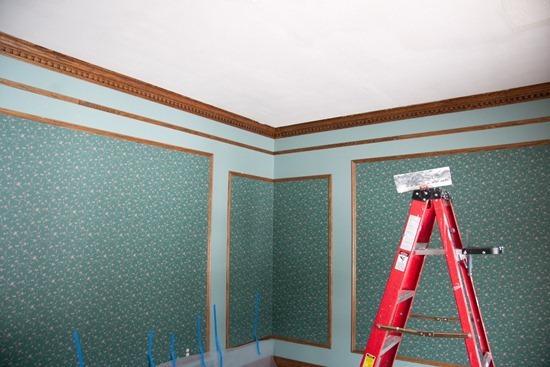 how to get wallpaper off without a steamer