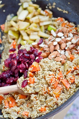 IMG 0788   Lovely & Light Cranberry, Apple, and Almond Quinoa