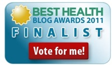 blog awards badge4   Tahini Avocado Chickpea Salad