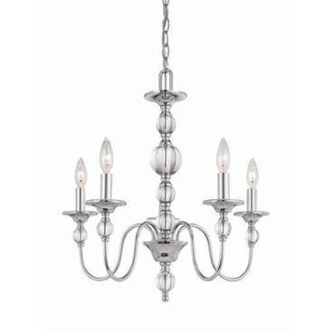 5 Light Chrome Chandelier 2   Chandeliers  Which One Is Your Fav?