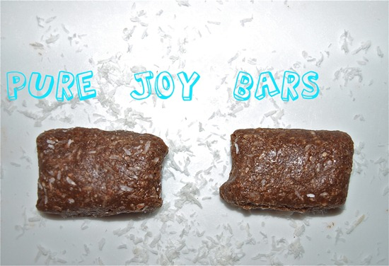 Pure Joy Bars   Recipe Link Love, March 5