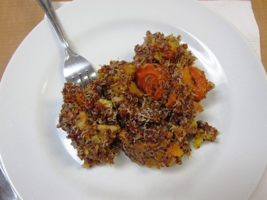 roastedvegetableswithquinoa   Recipe Link Love, March 2