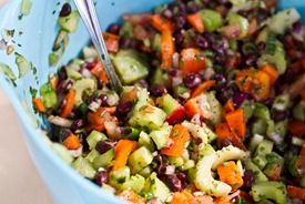 Back On Track II Cilantro Lime Spelt Berry Salad — Oh She Glows