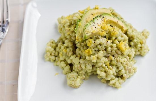 IMG 4792   Creamy Avocado Barley Risotto