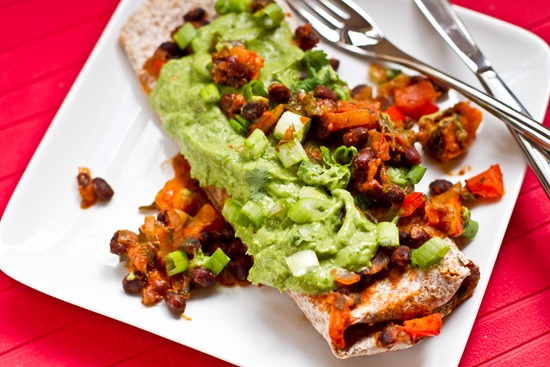Vegan Enchiladas with Cilantro Avocado Cream Sauce — Oh She Glows