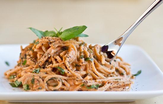 IMG 5659   Easy Tomato Basil Cream Pasta