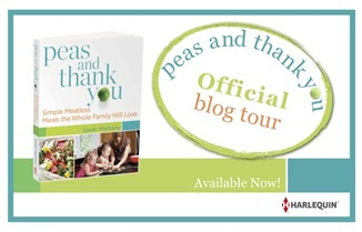 BlogTour Badge 2 Available Now   Peas and Thank You Cookbook + Giveaway!