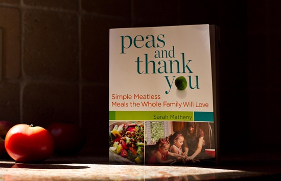 IMG 9105   Peas and Thank You Cookbook + Giveaway!