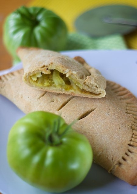 green tomato turnovers 1 thumb   Guest Post: Manifest Vegan