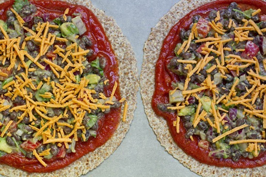 High Protein Tortilla Vegan Pizza Recipes — Dishmaps