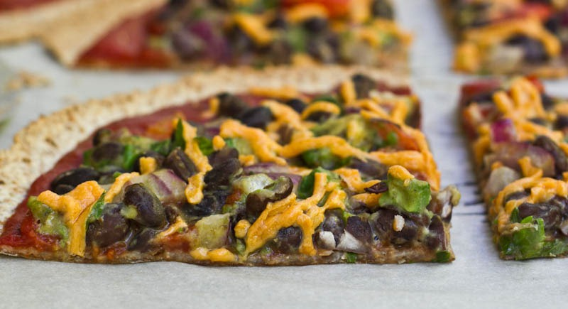 High Protein Tortilla Vegan Pizza — Oh She Glows